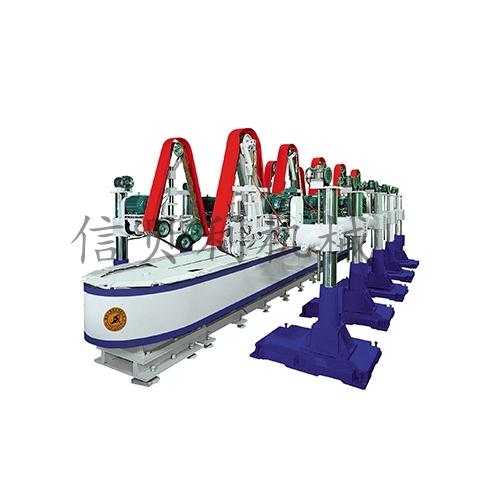 往復平面直線型輸送式自動砂研設備ST-807