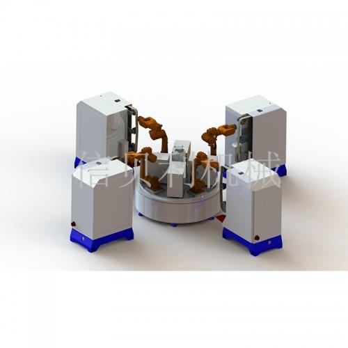 全自動機械手圓盤拋光機ST-6094