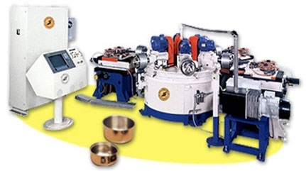 What is the working principle of the polishing machine?