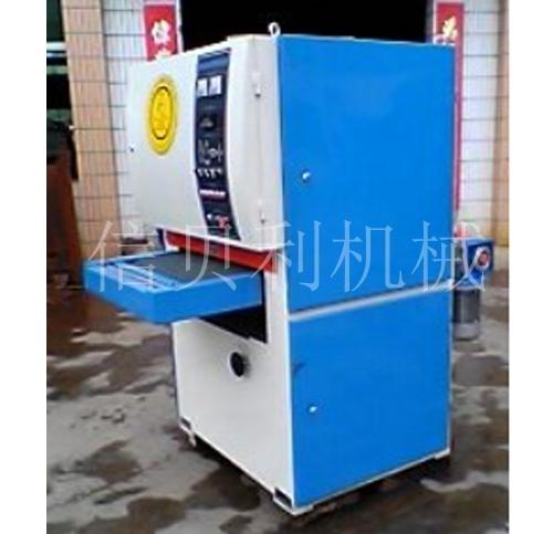 Double abrasive belt conveyor polishing machine ST-550