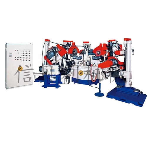 Automatic polishing machine around the pot ST-612
