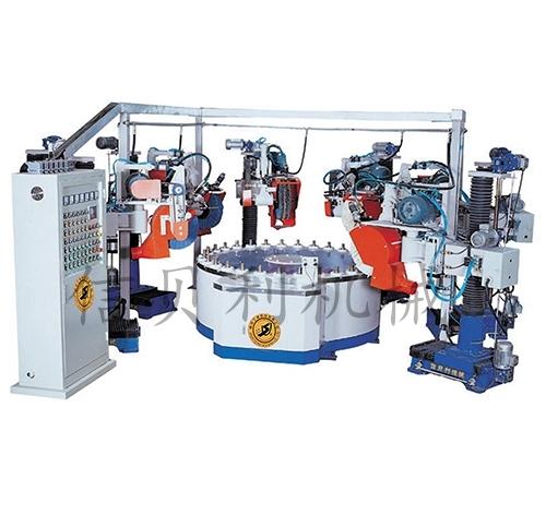 Disc intermittent automatic polishing machine ST-609