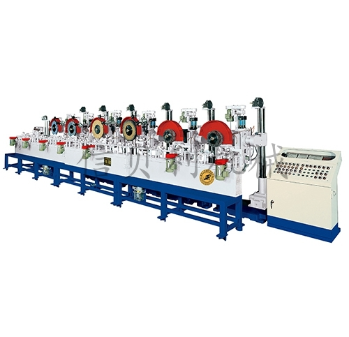 ST-521 roller conveyor automatic sanding and polishing machine