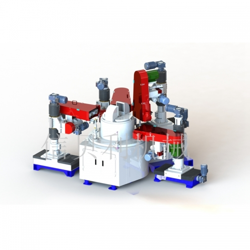 CNC automatic sanding disc machine NC-601