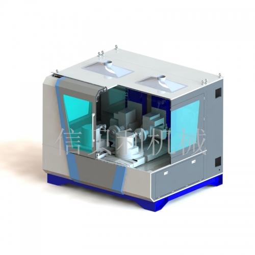 Double station seven-axis x2 servo polishing machine NC-01